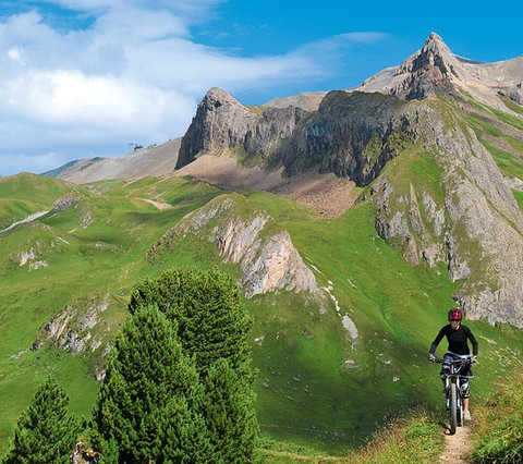 Bike region Ischgl - Hotel weisses Lamm