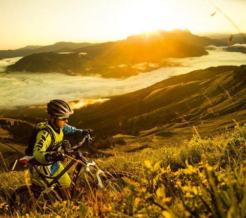 Mountainbiking in Kirchberg, Kitzbühel Alps, Tyrol