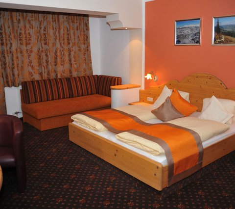 comfortable double room Bikehotel Klausen