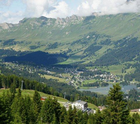 Mtb region Graubünden Hotel Collina