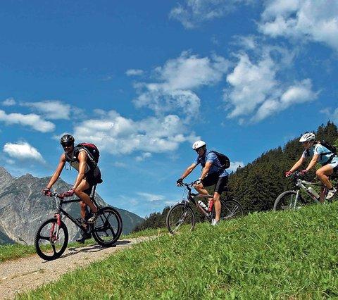 Sporthotel Grandau Vorarlberg biketochten
