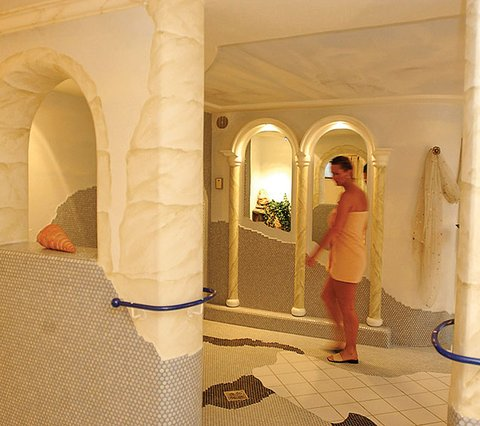 Wellnessbereich MTB-Hotel Sportalm