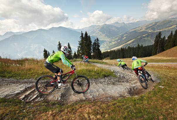 Kids on Bikes Camps 2015 in Saalbach