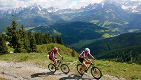 Bike tours in the region Salzburger Sportwelt