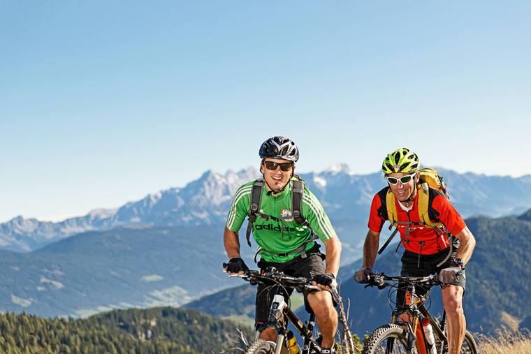 Mountainbike tours Salzburger Sportwelt