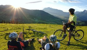 Easy bike tours of the Pinzgau region