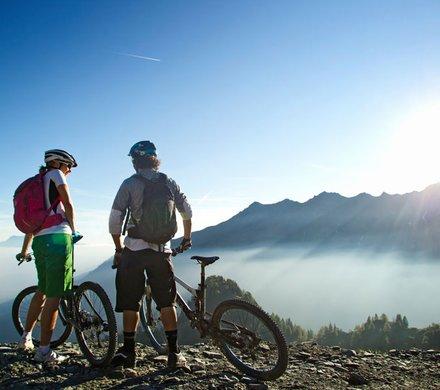 Mountainbike Urlaub im Pinzgau © SalzburgerLand Tourismus