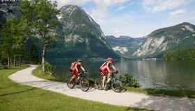 Leichte Biketouren im Salzkammergut Oberösterreich