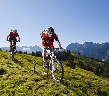 Mountainbiking at Salzkammergut © OOE Tourismus