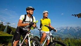 Geführte Biketour Schladming - Dachstein © Ikarus