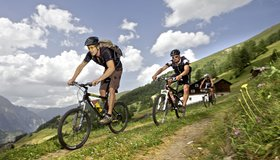 Biketours in the region Nauders © Martin Lugger