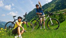 Leichte Biketouren in der Region Grossarltal