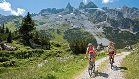 Bike tours in the region Montafon