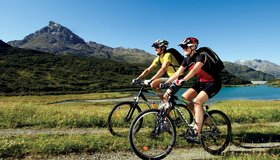 Easy bike tours Montafon