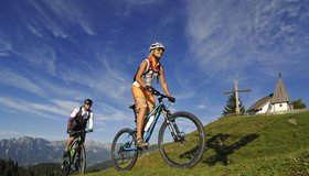 Bike tours in the region Kitzbueheler Alpen © Nobert Eisele-Hein