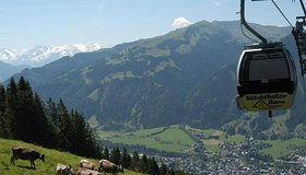 Mountain railways and bike transport services Kitzbüheler Alpen