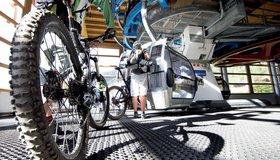 Kabelbanen en fietsvervoer Ötztal