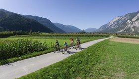 Gemakkelijke fietstochten in de omgeving Ötztal