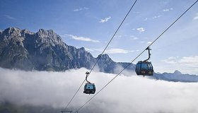 Leogang cable cars