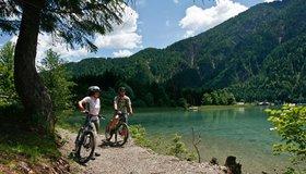 Gemakkelijke fietstochten Nassfeld-Pressegger See - Lesachtal - Weissensee