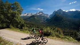 Gemakkelijke fietstochten Gardasee