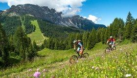 Biketouren Dolomiten - Eggental