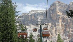 Alta Badia cable cars