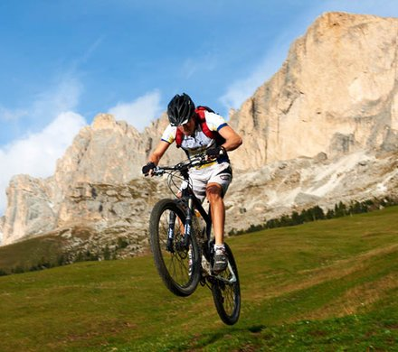 mtb vakantie bike regio Dolomiten - Eggental