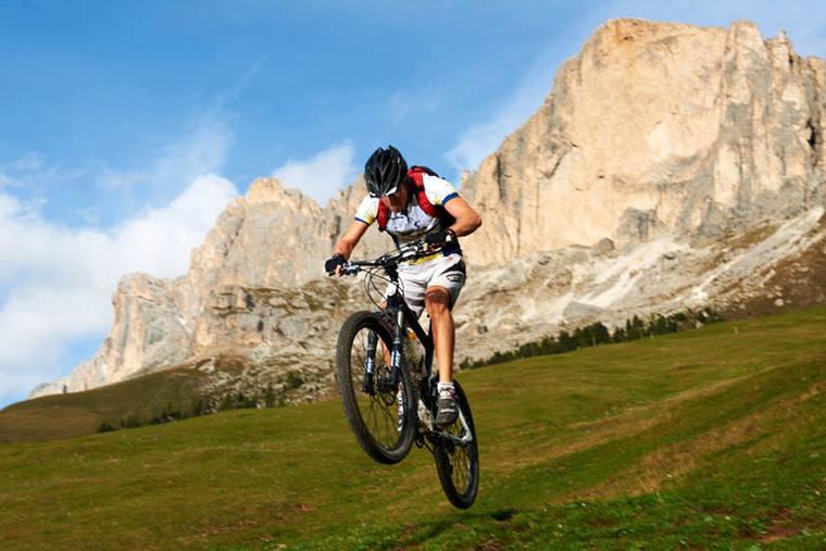 MTB Urlaub Bikeregion Dolomiten - Eggental