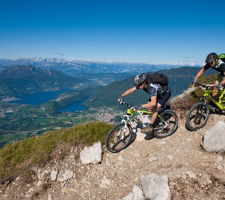 Singletrails - bike region Dolomiti Lagorai Bike Trentino