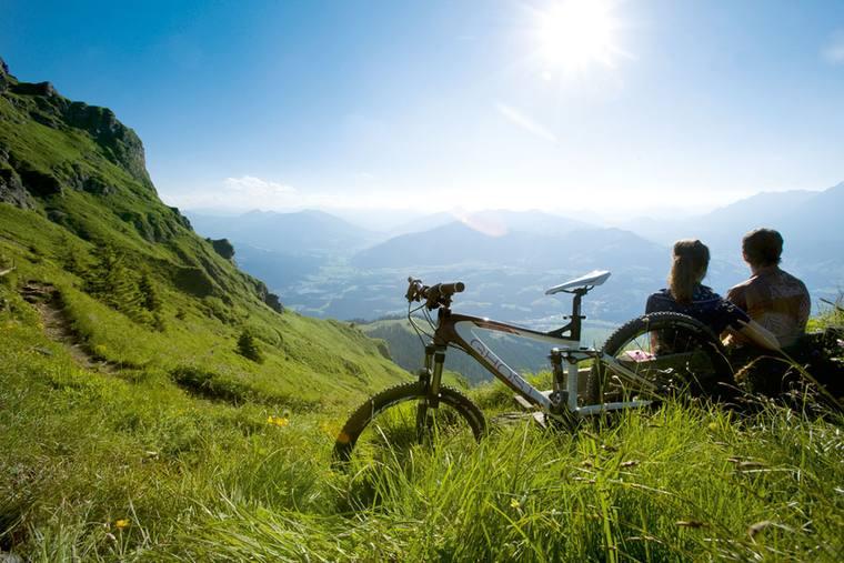 Mountainbikeurlaub Kitzbüheler Alpen © Anna Maria