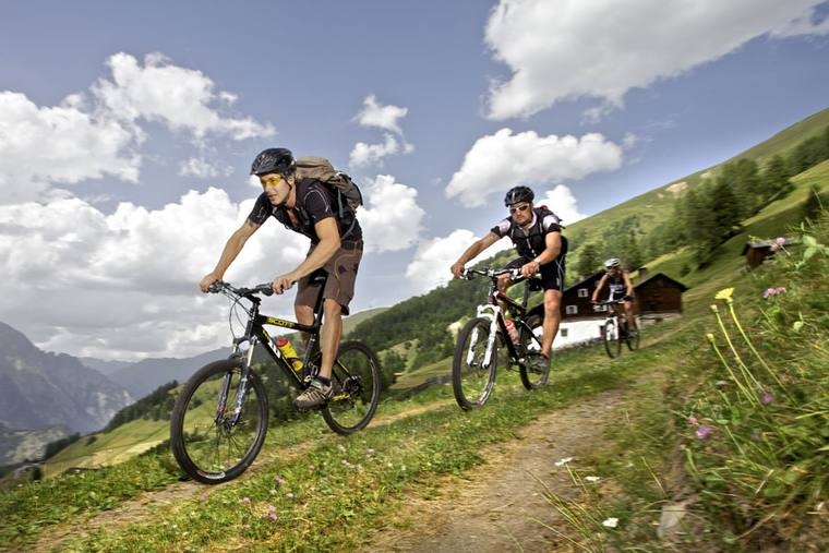 Mountainbiketouren in der Urlaubsregion Nauders © Martin Lugger