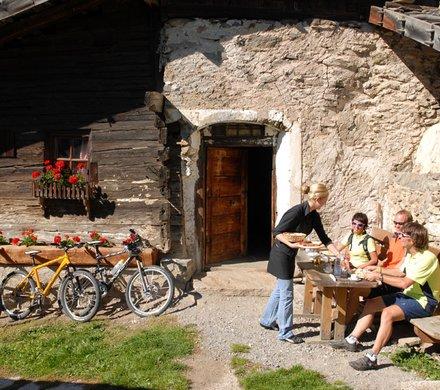 MTB pause bike holidays Südtirol