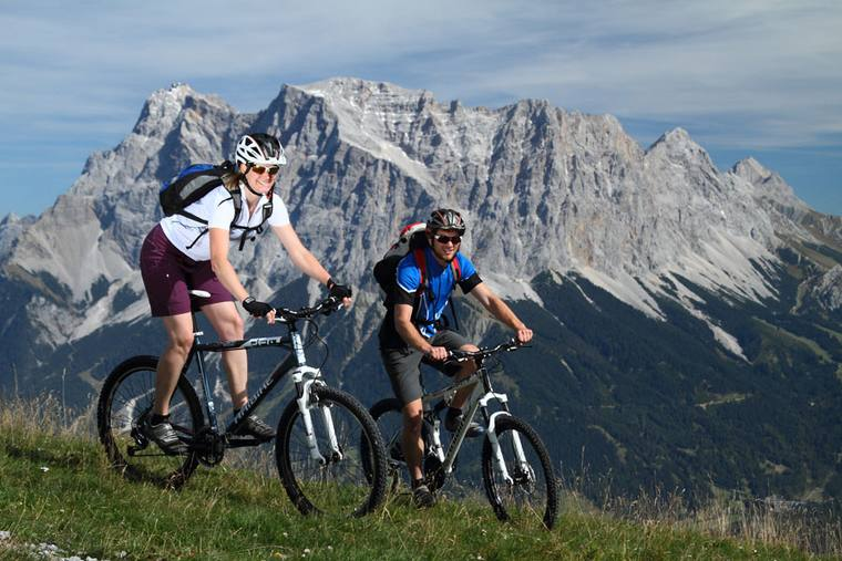 Mountainbike holidays Tiroler Zugspitzarena