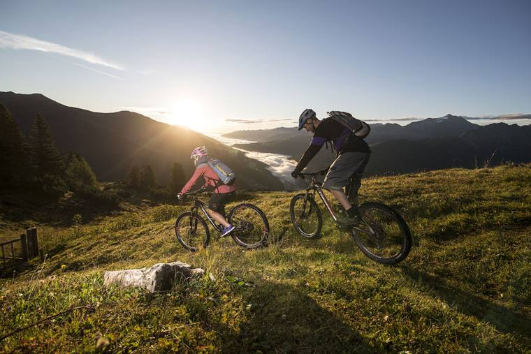Trails bike holiday Zillertal Arena