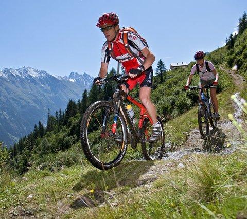 Bikeregion Ötztal, Mountainbiken Hotel Alpina