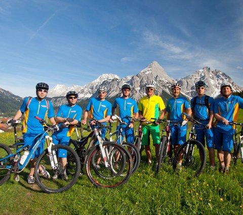 Bikeguiding Zugspitzarena Tirol