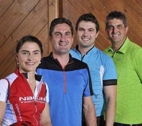 Bikeguide team Hotel Edelweiss-Grossarl