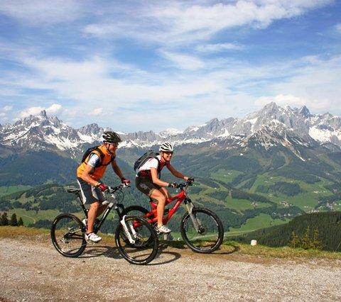 Mountainbikeregion Salzburger Sportwelt, Hotel Tauernhof