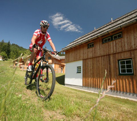 Bikeguide Team AlpenParks Hagan Lodge
