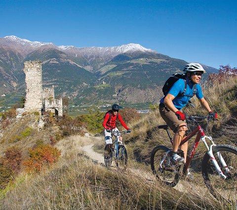 Mtb tochten bikehotel das Paradies Latsch