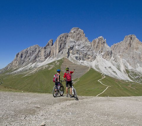 Biking hotel Pider in the region Alta Badia