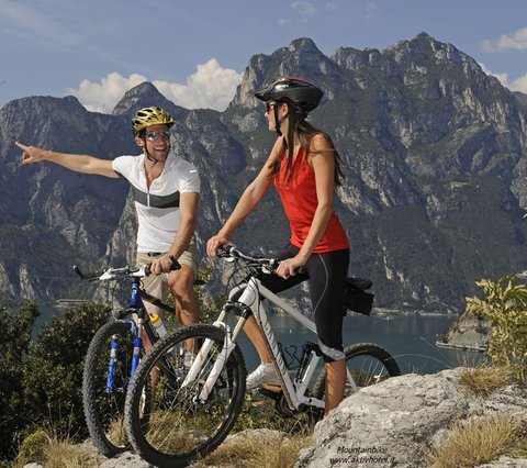 Rad fahren am Gardasee, Aktivhotel Santalucia