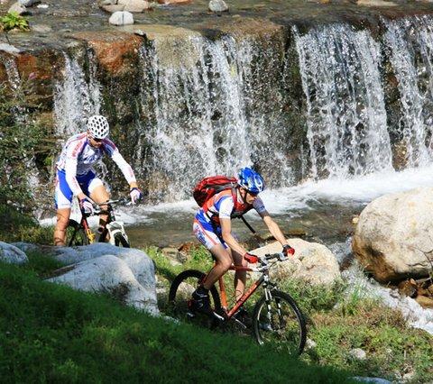 Bike-Kompetenz Sport&Wellness Hotel Cristallo am Levicosee