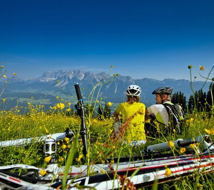 Schladming mountain bike holidays © Ikarus