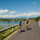Berge, Wasser, Rennradstrecken