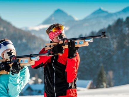 Biathlon in der Fuschlseeregion