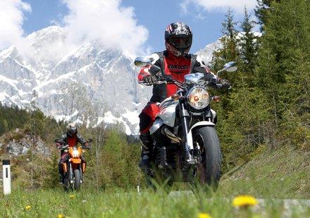 Biker im Salzburger Land