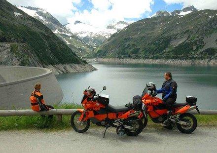 Biker in der Steiermark