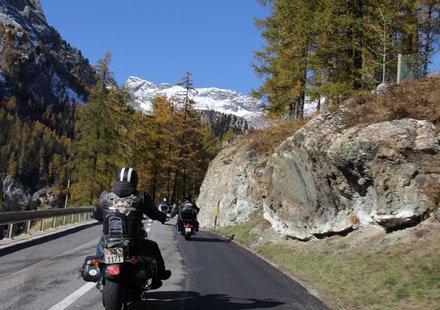 Biker in Graubünden
